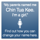 Find out how you can change your name here.